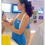 Samsung showgirl